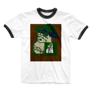 探検家 Ringer T-shirts
