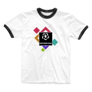 performer EGAOグッズ Ringer T-shirts