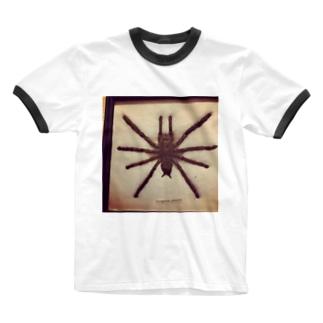 クロイスパイダーマン Ringer T-shirts
