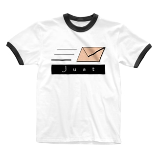 JUST MAIL Ringer T-shirts