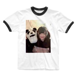 シャクレルりあちゃん Ringer T-shirts