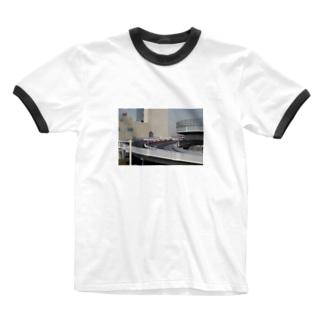 Kawasaki-01 Ringer T-shirts