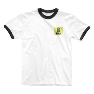 メロンソーダパンチ Ringer T-shirts