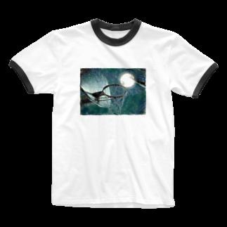 Lost'knotの満月ノ夜ニ Ringer T-shirts