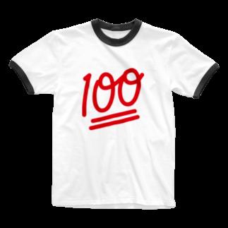 stickysyrupsの100点 Ringer T-shirts