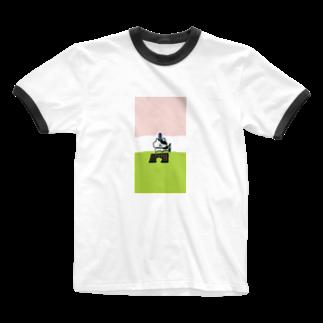 n_shhhinのグッバイバレンタインにーの Ringer T-shirts