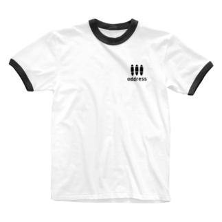 アドレス Ringer T-shirts
