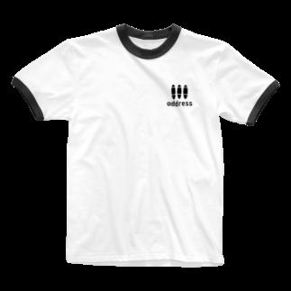 アメリカンベースのアドレス Ringer T-shirts