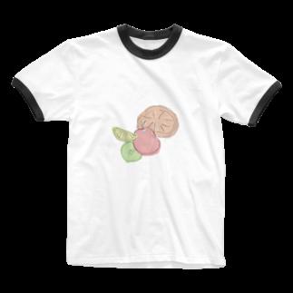 ひまのfruits Ringer T-shirts