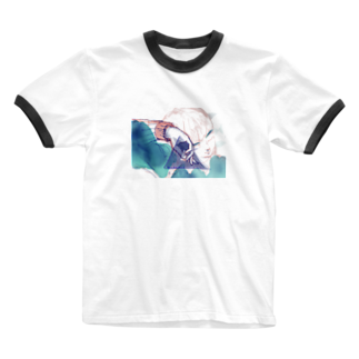 jtyxの無題2-1 Ringer T-shirts