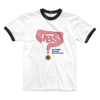 過敏性腸症候群(IBS下痢型) Ringer T-shirts