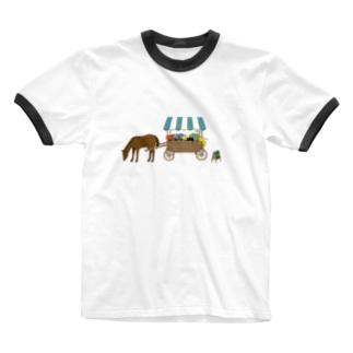 flower shop Ringer T-shirts