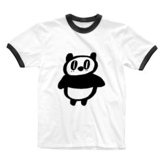 パンフクロウ Ringer T-Shirt