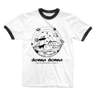 [みんなの童謡] ドナ・ドナ Ringer T-shirts