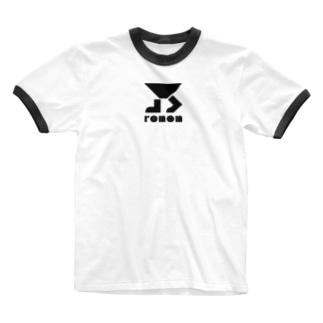「彼」は短くてもいいって。 Ringer T-shirts