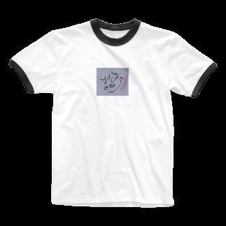 Biのラブ人間 Ringer T-shirts