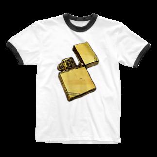zikomanking SHOPのyour zippo Ringer T-shirts