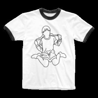 i m s o r r y .のo s g Ringer T-shirts