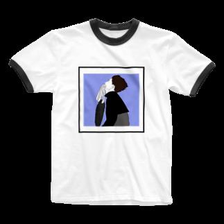 OCHIYASのtraining Ringer T-shirts