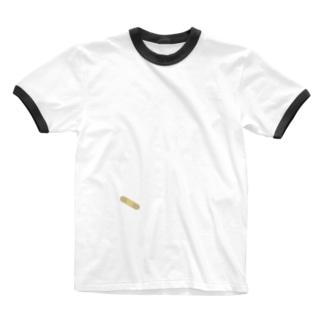 絆創膏 Ringer T-shirts