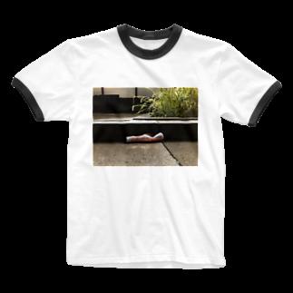 shino 📸の野良けちゃ Ringer T-shirts