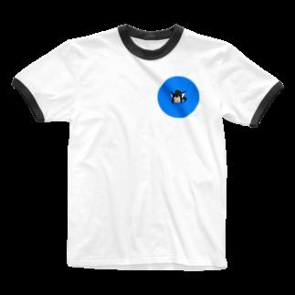 本日も晴天なりの水美 Ringer T-shirts