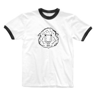 hitsujisan Ringer T-shirts