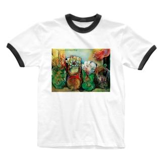 ひよこ書店 ☆ SEIKO Goods Shop from NASUのSEIKOさん新着 Ringer T-shirts
