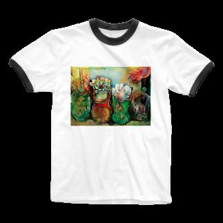 ひよこのお店 ☆ SEIKO Goods Shop from NASUのSEIKOさん新着 Ringer T-shirts