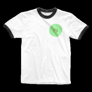 本日も晴天なりの白唄 Ringer T-shirts