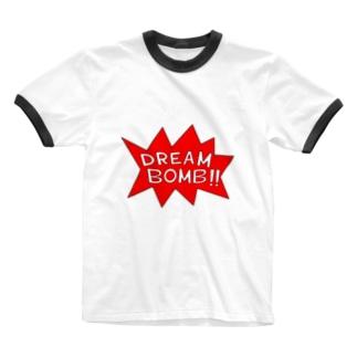 DREAM BOMB!! ユメノバクダン Ringer T-shirts