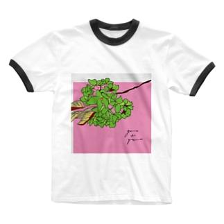 ギョイコウ Ringer T-shirts