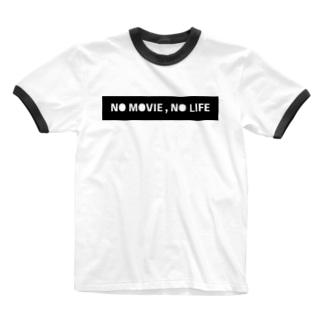 たくみん / 宮田匠のNO MOVIE , NO LIFE Ringer T-shirts