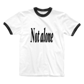 Notalone0705のNot alone Ringer T-shirts