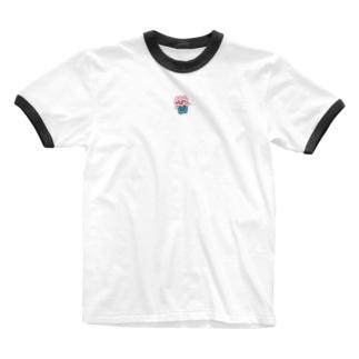 チューリップの妖精よっちー Ringer T-shirts