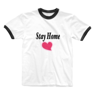 Notalone0705のStay Home Ringer T-shirts