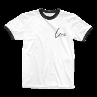 Ambersim(アンバーシム)のファスナーデザイン Ringer T-shirts