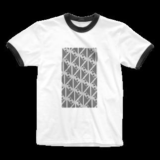 気ままに創作 よろず堂のサーヴィエ行進曲 燻銀 Ringer T-shirts