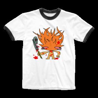 血味亭2ndのほのを Ringer T-shirts