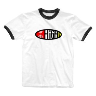ほたるT Ringer T-shirts