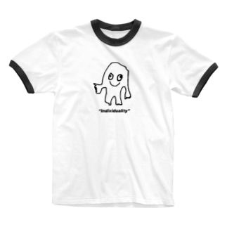 ボンボ君 Ringer T-shirts