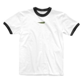 シダ植物 Ringer T-shirts