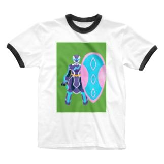 ピギ トレフブロン2 アモスタイル Ringer T-shirts