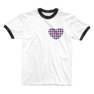 Flower park ♡ tee Gentle  Ringer T-shirts