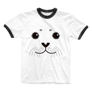 SEAL-animal up-アニマルアップ- Ringer T-shirts