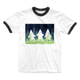無知の極み虫の怪しい妖精 Ringer T-shirts