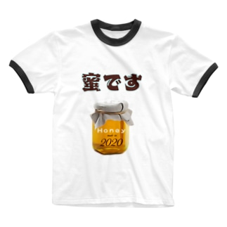 team-Kの蜜です Ringer T-shirts