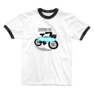 SURFING LIFE Ringer T-shirts