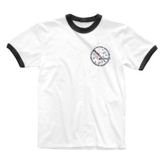 禁煙だよ♡ Ringer T-shirts