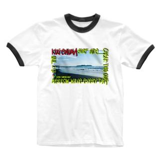 鵠沼海岸 Beahシリーズ Ringer T-shirts